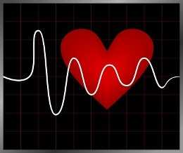 Сердце и график