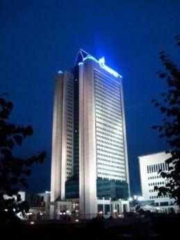 Главный офис ОАО Газпром в Москве