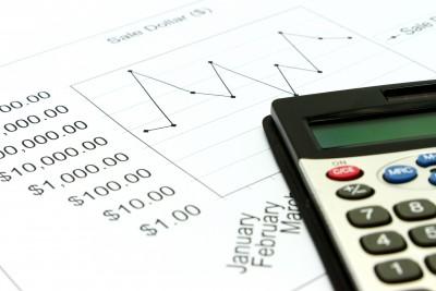 Калькулятор и график котировок