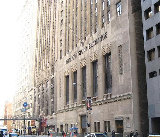 Здание Нью-Йоркской биржи