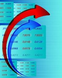 Таблица со стрелками, демонстрирующая прибыль